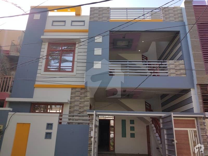 گلشنِ معمار - سیکٹر ایکس گلشنِ معمار گداپ ٹاؤن کراچی میں 6 کمروں کا 8 مرلہ مکان 2.45 کروڑ میں برائے فروخت۔