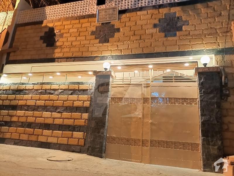 اندہ موڑ روڈ کراچی میں 5 کمروں کا 5 مرلہ مکان 1.27 کروڑ میں برائے فروخت۔