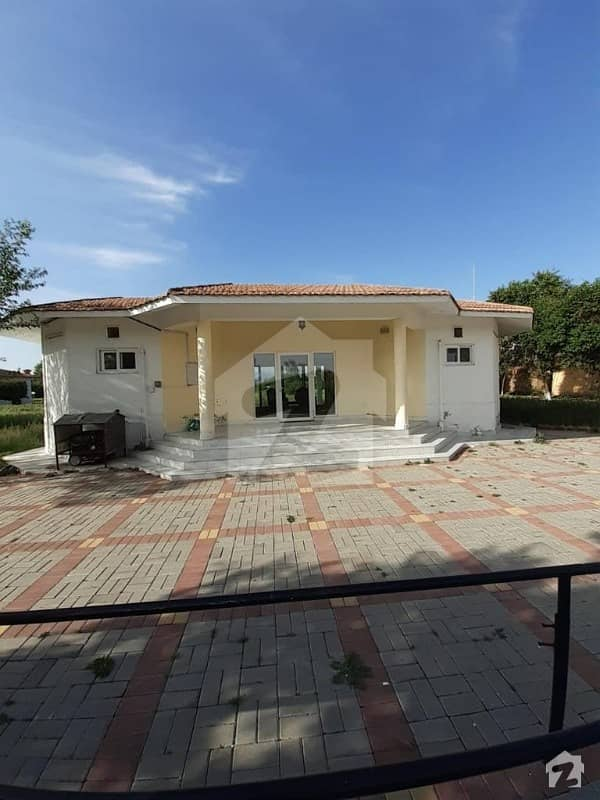 40 Kanal Well Maintained And Constructed Farmhouse