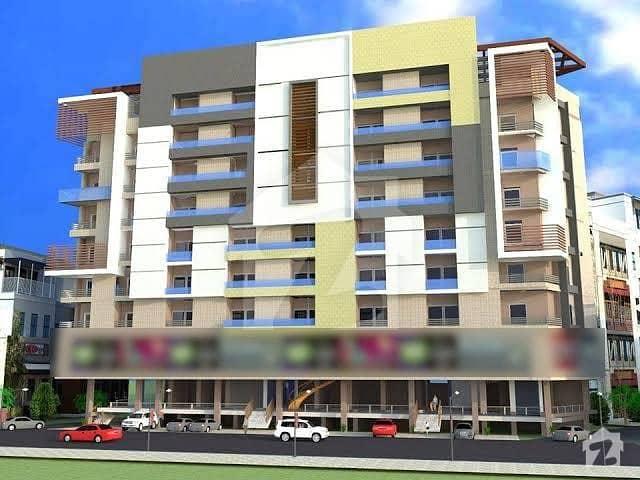یونیورسٹی ٹاؤن پشاور میں 4 کمروں کا 7 مرلہ فلیٹ 1.3 کروڑ میں برائے فروخت۔
