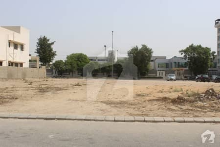 2000 Yards Corner Plot Divided Into 3 On 4th Belt Of Khy Ghalib