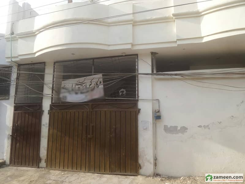 7 Marla Single Storey House For Rent.