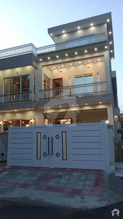 G-9 Brand New House For Sale 30x50 Corner Prime Location