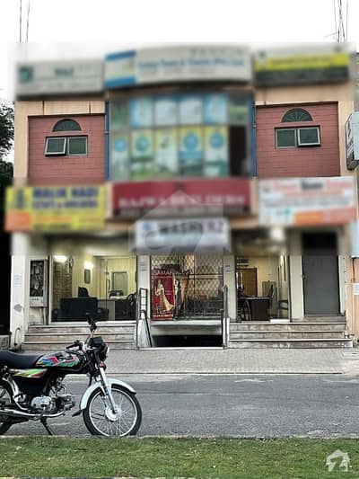 4 Marla Commercial Building For Sale In Valencia Town Lahore