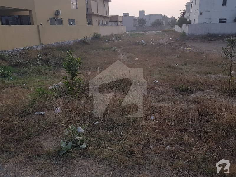 Residential Plot For Sale In Dha Lahore Phase 6 D Block Lahore