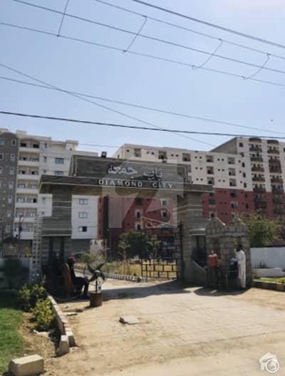 120 Sq Yards Park Facing Plot In Diamond City - Near To Gulshan E Maymar