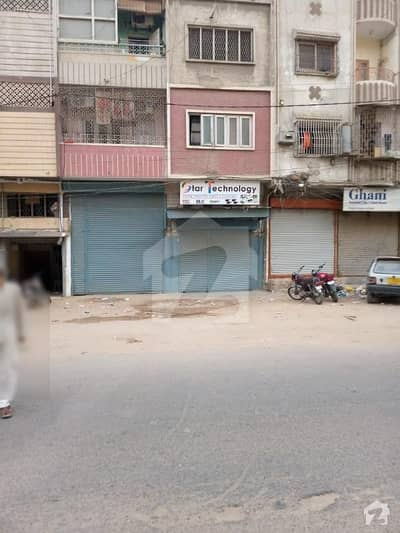 Shop 64 Square Yards Facing Main Road F. b Area Bl-1 For Sale