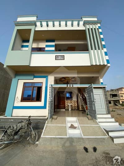 120 Sq. yards Double Storey House Is Available For Sale At Gulshan-e-usman.