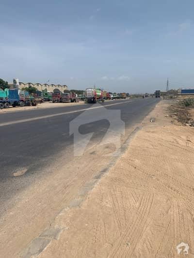 05 Acre Industrial Plot On Main Road Of Port Qasim