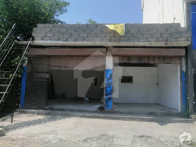 House For Sale With Two Shops