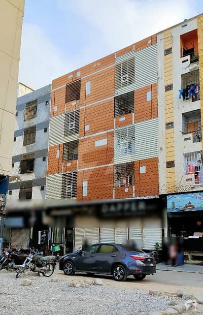 بخاری کمرشل ایریا ڈی ایچ اے فیز 6 ڈی ایچ اے ڈیفینس کراچی میں 3 کمروں کا 5 مرلہ فلیٹ 1.64 کروڑ میں برائے فروخت۔