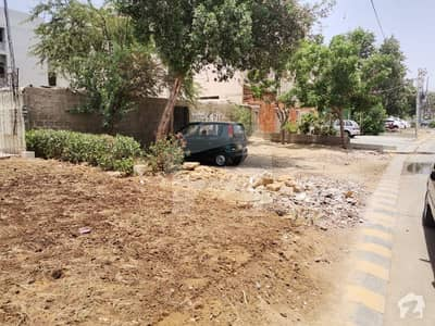 400 Yard Plot On Main 150 Feet Wide Johar Hill Road Available For Sale In Block 3 Gulistan E Johar Karachi Near Beacon House School Ideal For Rental Income Or Any Other Commercial Use