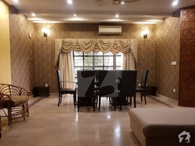 Fully Basement 10 Marla Imported Furniture & Fixtures Fully Furnished Beautiful Designer House For Rent In Phase-5