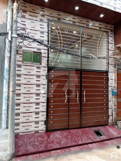 Mian farooq estate offer 2.5 marla double storey beautiful brand new house for sale in main bazar shaheen park lal pul lahore