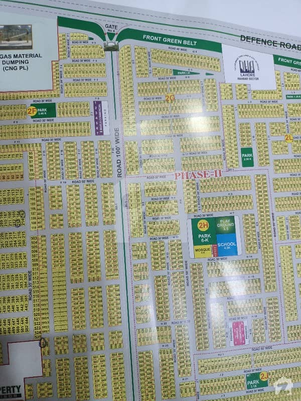 Centrally Located Residential Plot In Dha 11 Rahbar Is Available For Sale