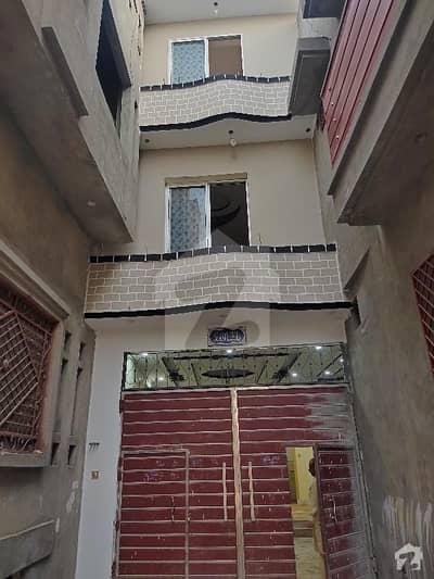 7 Marla Fresh Triple Storey For Sale At Abshar Colony Street 4 Peshawar