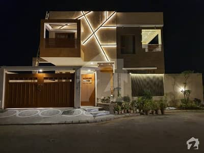500 Yard Brand New Furnish House For Sale