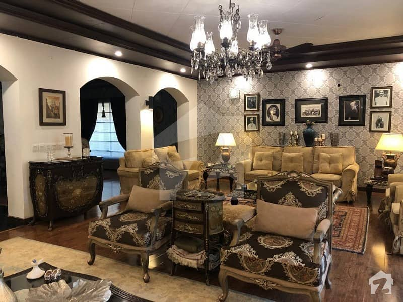 Fully Furnished Beautiful House For Rent 1000 Square Yards Ideal Location