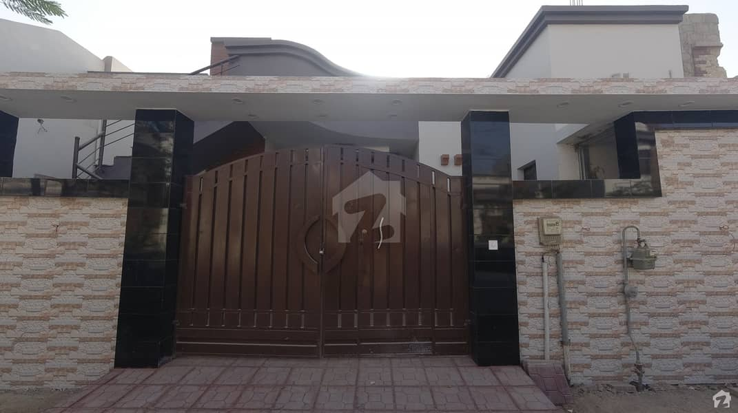 Block 160 B Sq Yard Luxury 40 Feet Road Fully Furnished Bungalow Is Available For Sale In Saima Arabian Villas