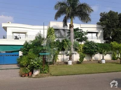 Beautiful Bungalow With An Open Plot Is Available For Sale In Gul Afshan Colony Cantt