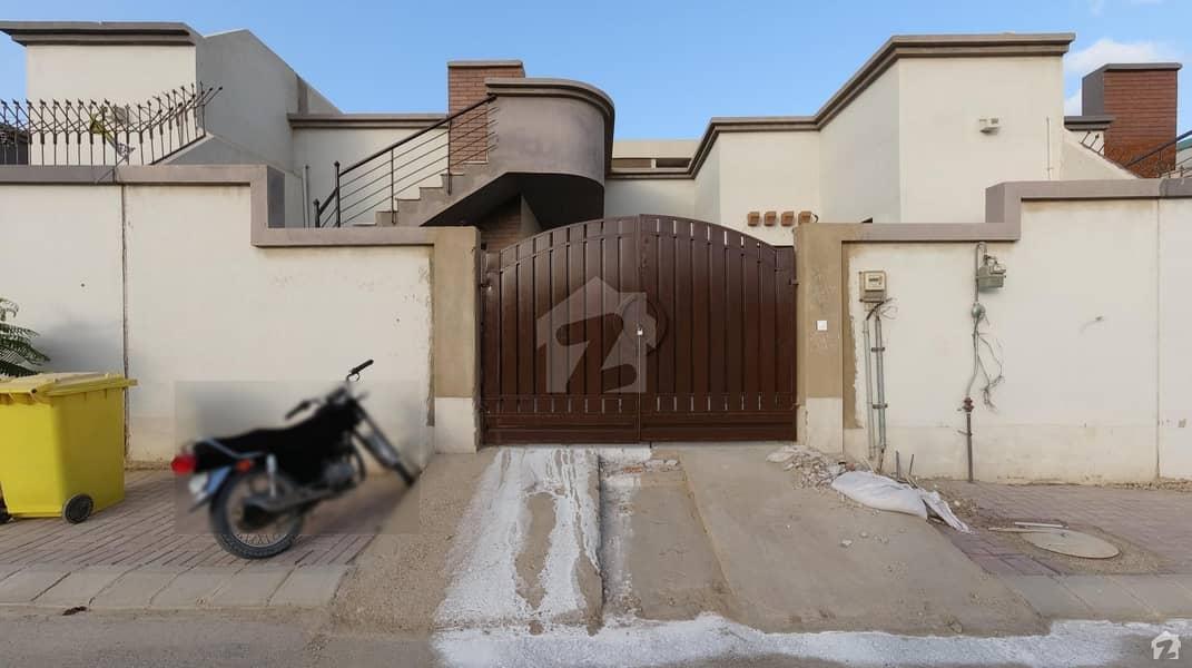 Block G 160 SQ Yard West Open luxury Green belt Facing bungalow is Available For Sale in Saima Arabian Villas