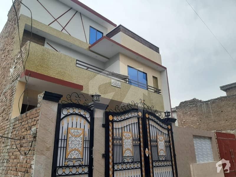 7 Marla New Fresh Luxury Double Storey House For Sale On Warsak Road