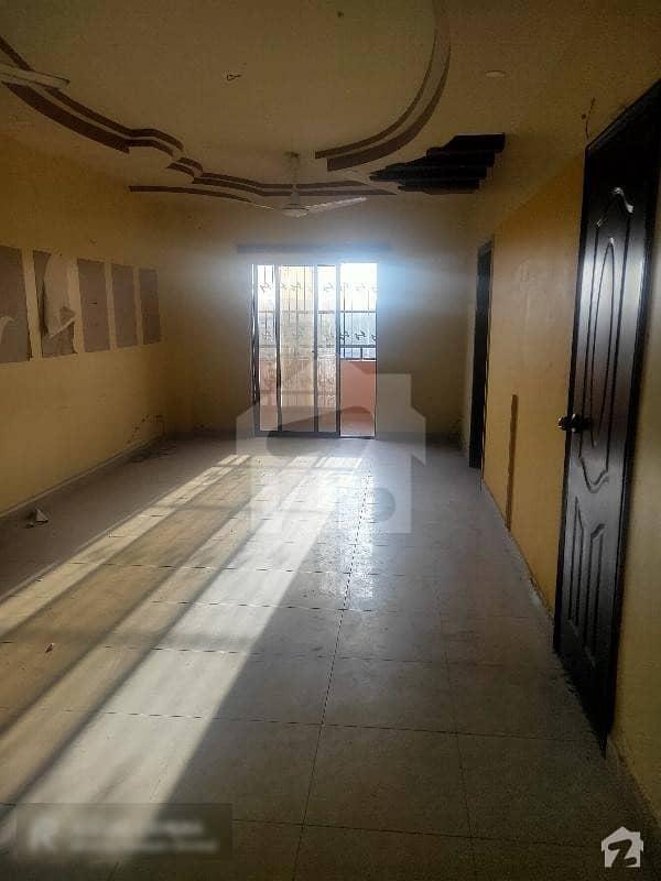 Flat For Rent 3 Bed Saima Bridge View North Nazimabad Block B