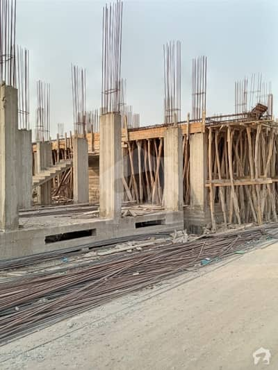 Chance Investment Deal Under Construction Project In 30 Months Installments Rose Category Flat 2 Bed Lounge 2nd Floor For Sale Near Shahrah E Faisal Karachi