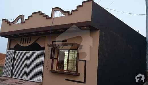 4 Marla Single Storey House A  Construction Main Street 24 Ft Width  Islamabad