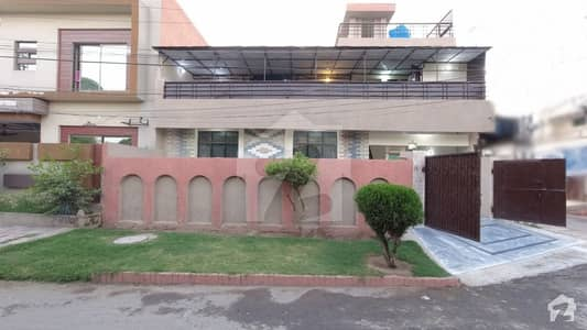 11 Marla Corner House Is Available For Sale In Ravi Block Allama Iqbal Town Lahore