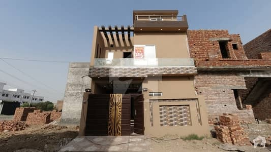Ideal 3 Marla House Available In Bismillah Housing Scheme, Lahore