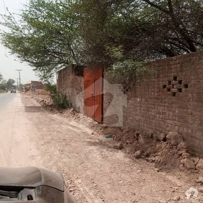 Commercial Plot On Main 70 Feet Carpeted Road