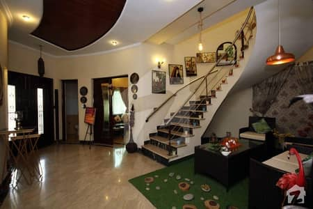 1 Kanal Super Furnished Beautiful Used House Available For Sale In Dha Phase 4 Lahore