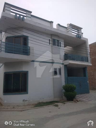 Shadman City Phase 2  5 Marla Ki Corner  Full Double Storey House Brand New Full Covered House For Sale