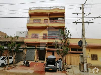 3 Floor House Is Available For Sale