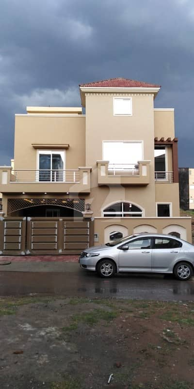 7 Marla Double Storey Brand New House for Sale Bahria town phase 8 Rawalpindi