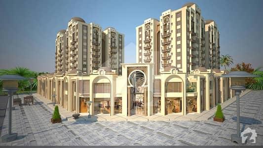 سٹی ٹاور اینڈ شاپنگ مال یونیورسٹی روڈ کراچی میں 3 کمروں کا 8 مرلہ فلیٹ 1.65 کروڑ میں برائے فروخت۔