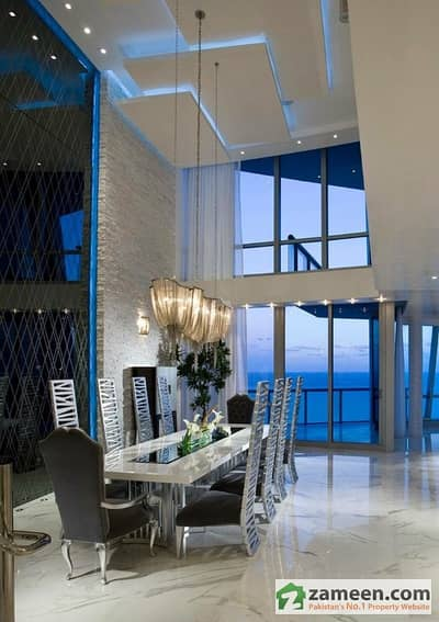 Pearl Emaar Crescent Bay Penthouse 2720 Sq Ft 2 Bed Sea Facing
