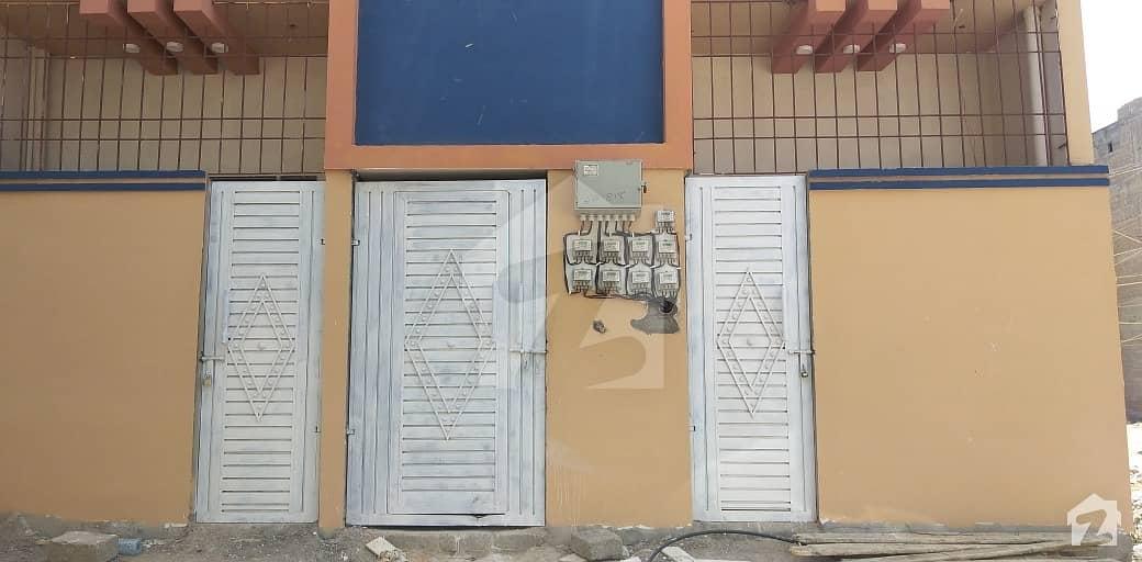 اللہ والا ٹاؤن کورنگی کراچی میں 2 کمروں کا 2 مرلہ فلیٹ 22 لاکھ میں برائے فروخت۔