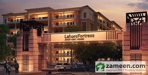 1 Bedroom Luxury Apartment New Project Society  Lahore Fortress Apartment Homes Cheap And Ideal Living Installment Plan And Booking Is Ready