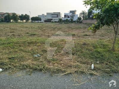 K Block 46 Marla Corner Prime Location Main Road Plot For Sale Phase 6 Dha Lahore