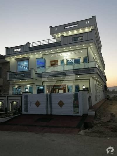 35x70 Brand New Street Corner Park Face Lavish House For Sale G13 Islamabad