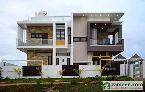 House For Sale At 600 Sq Yard Beautiful 6 Bed D/D West Open
