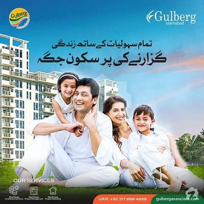 7 Marla Plot On 10% Discounted Rate Available For Sale In F-executive Block Gulberg Residencia Islamabad