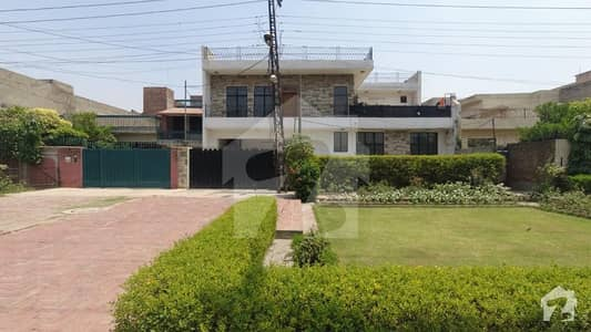 An Aesthetic Well - Built And Beautifully Finished 1 Kanal Used House Is Available For Sale At Township Sector B2 Lahore