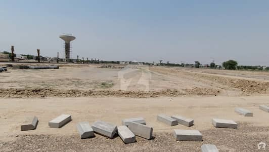 Facing Park Commercial Plot At Main Boulevard For Sale In Bahria Town