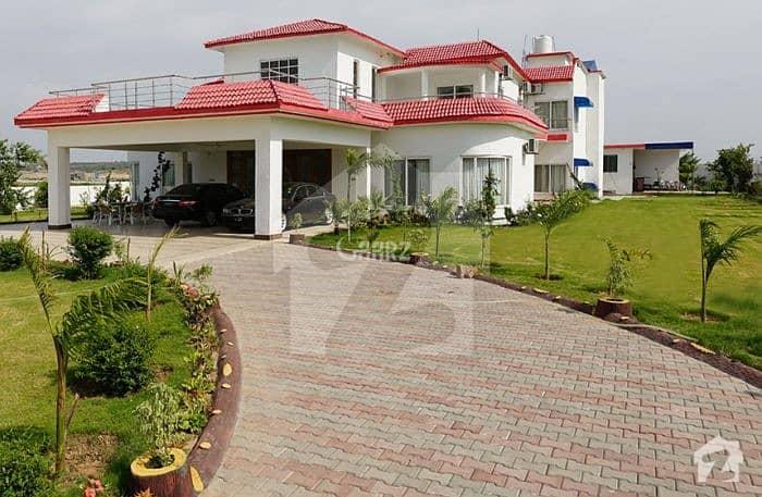 Chakshehzad 23 Kanal Built Developed Farm House Available For Sale .