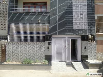 120 Sq Yards Like New Double Storey House With 4 Beds