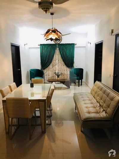 City Tower 3 Bed Drawing Dining Furnished Appartment