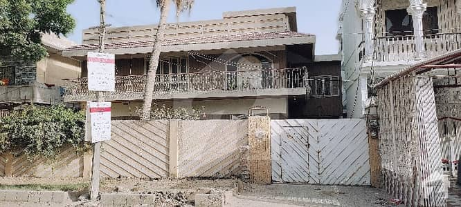 House Ground Plus 1  Commercial Street Prime Location 100 Feet Road Facing  North Karachi Sector 11c 1